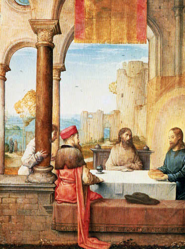 Juan de Flandes - Das Mahl in Emmaus