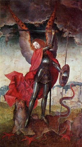 Juan de Flandes - Saint Michael
