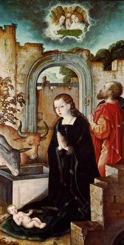 Juan de Flandes - Christi Geburt