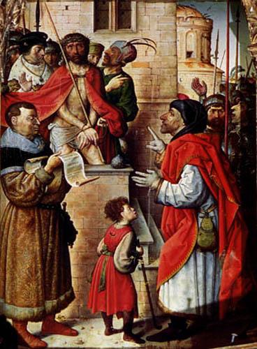 Juan de Flandes - Ecce Homo