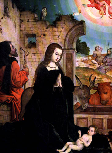 Juan de Flandes - Die Geburt Christi