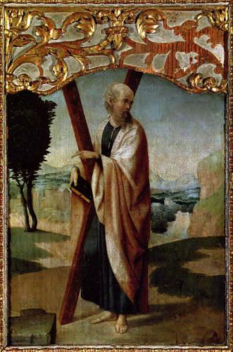 Juan de Flandes - Der hl. Andreas