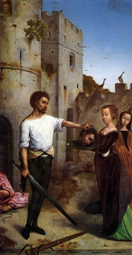 Juan de Flandes - The Beheading of St John the Baptist