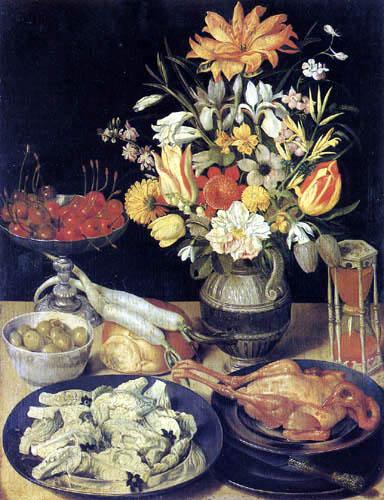 Georg Flegel - Still life with a bouquet