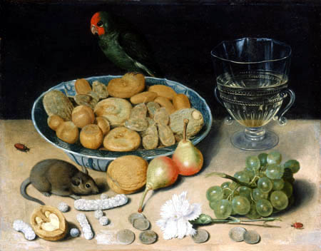 Georg Flegel - Still life with a mouse