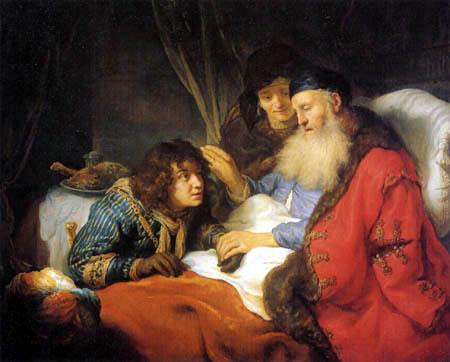 Govaert Flinck - Isaac blesses Jacob