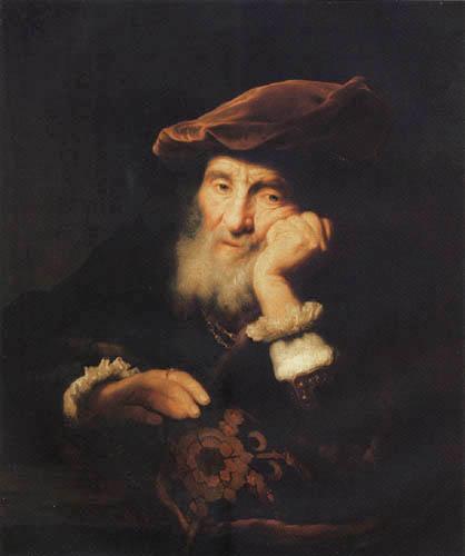 Govaert Flinck - Bärtiger alter Mann