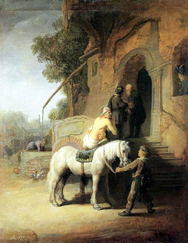 Govaert Flinck - The merciful Samaritan