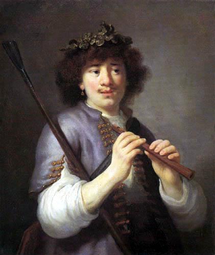 Govaert Flinck - Rembrandt als Schäfer