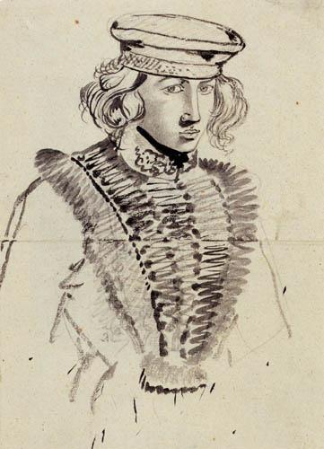 Carl Philipp Fohr - Selfportrait