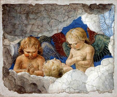 Melozzo da Forli - Gruppe von Engeln