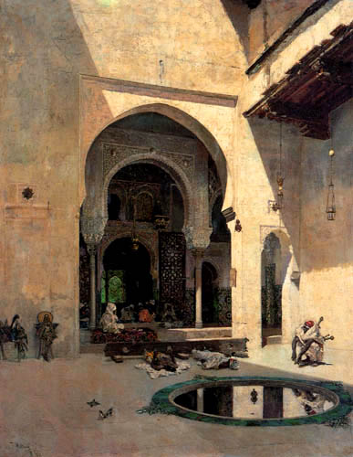 Mariano Fortuny - The Court of Justice of the Alhambra