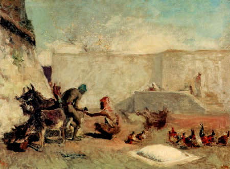 Mariano Fortuny - A Moroccan blacksmith