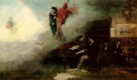 Mariano Fortuny - Faust Fantasy