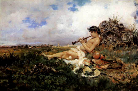 Mariano Fortuny - An idyl