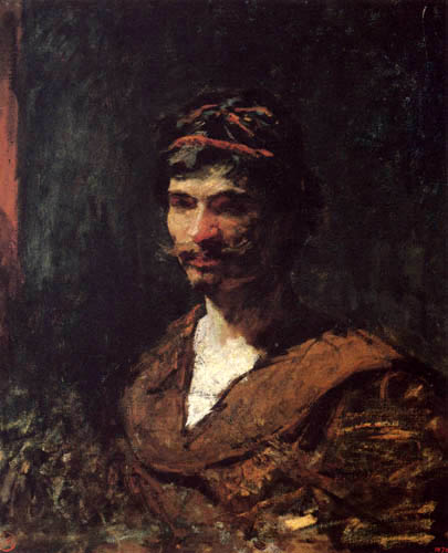 Mariano Fortuny - Portrait of a man