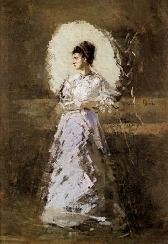 Mariano Fortuny - Portrait of Rosina Bini