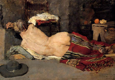 Mariano Fortuny - A resting prisoner