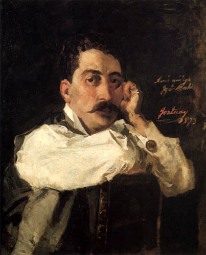Mariano Fortuny - Portrait of Ignasi Aixela i Font