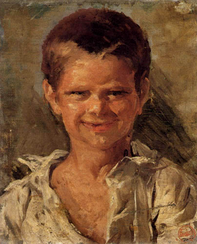 Mariano Fortuny - A Boy in Portici