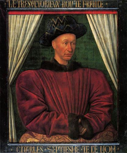 Jean Fouquet - Karl VII., König von Frankreich