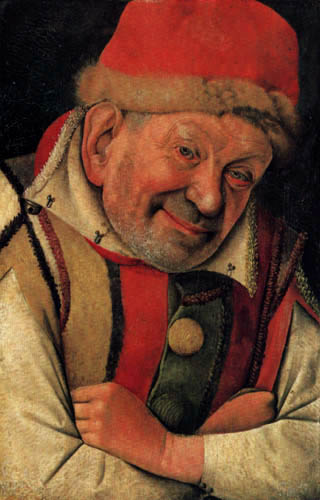 Jean Fouquet - The Jester Gonella