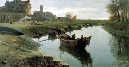 Pietro Fragiacomo - Venezia povera