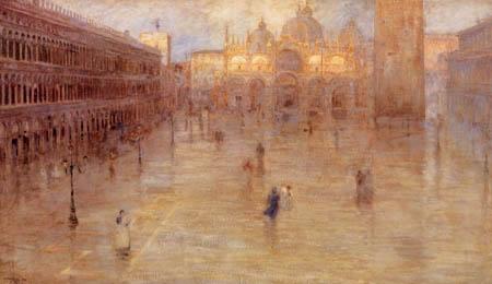 Pietro Fragiacomo - Piazza San Marco
