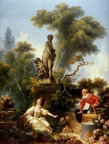 Jean-Honoré Fragonard - Das Treffen