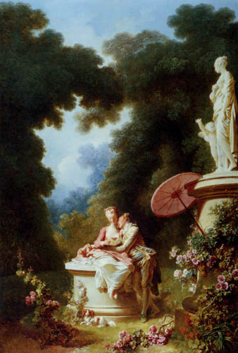 Jean-Honoré Fragonard - Liebesbriefe