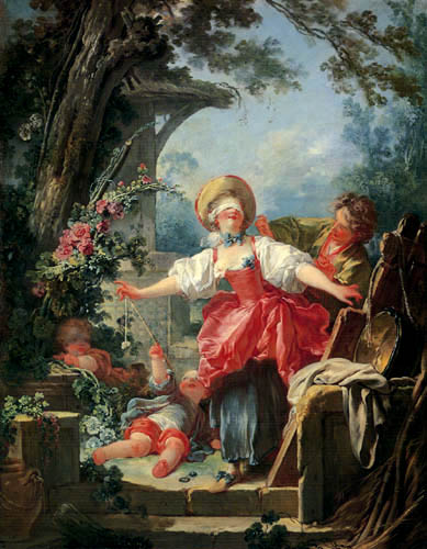 Jean-Honoré Fragonard - Blindekuh