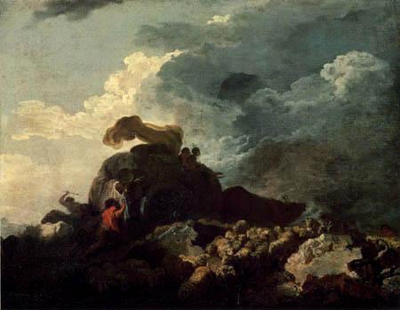 Jean-Honoré Fragonard - Der Sturm