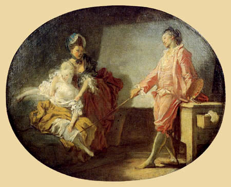 Jean-Honoré Fragonard - The new Model