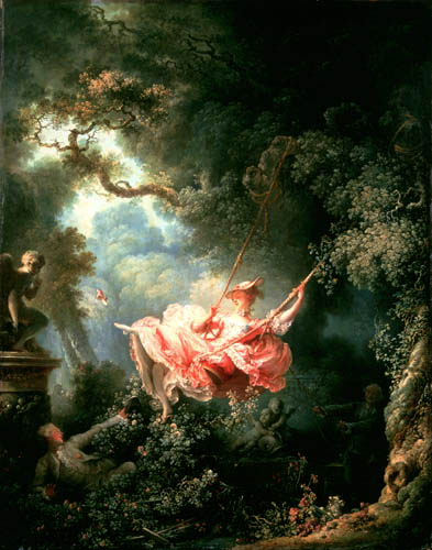 Jean-Honoré Fragonard - Swing