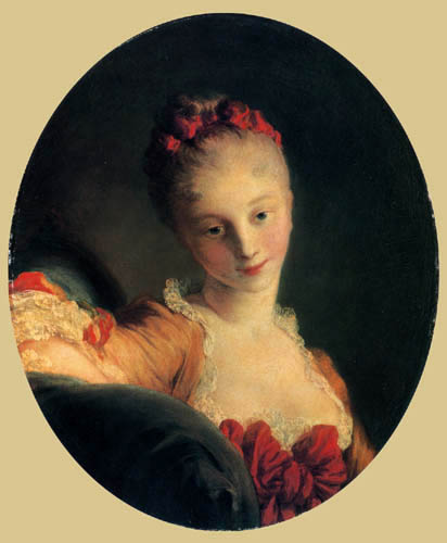 Jean-Honoré Fragonard - Mademoiselle Guimard