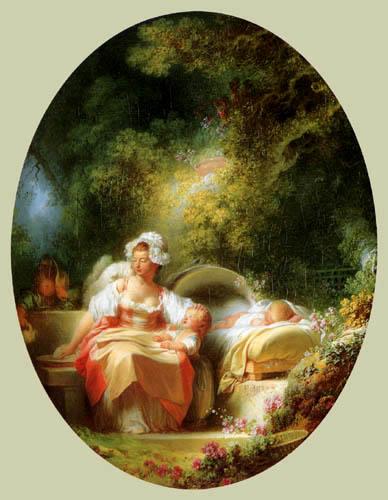 Jean-Honoré Fragonard - La buena madre