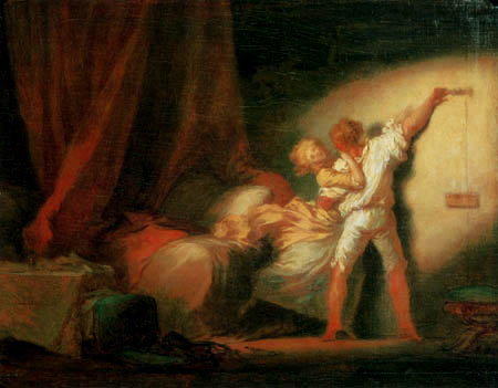 Jean-Honoré Fragonard - The Bar I