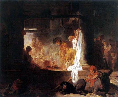 Jean-Honoré Fragonard - Laundresses