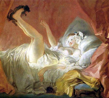 Jean-Honoré Fragonard - La rosquilla
