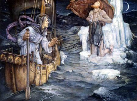 Edward Reginald Frampton - The voyage of St Brendan