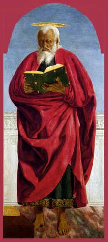 Piero della Francesca - Simon der Apostel