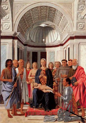 Piero della Francesca - Die Madonna mit dem Kind