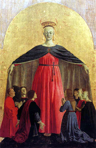 Piero della Francesca - Polyptychon der Misericordia, Haupttafel