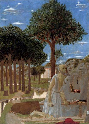 Piero della Francesca - The Penitent Saint Jerome
