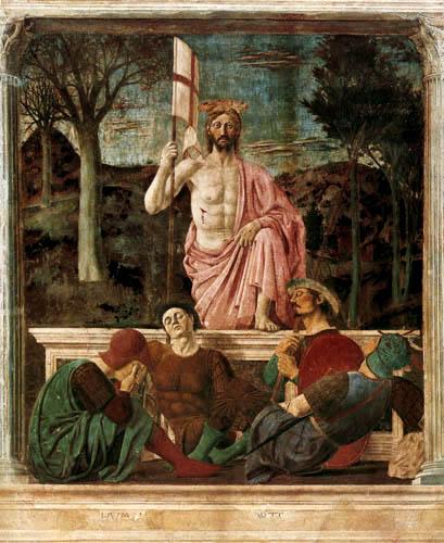 Piero della Francesca - The Resurrection of Christ