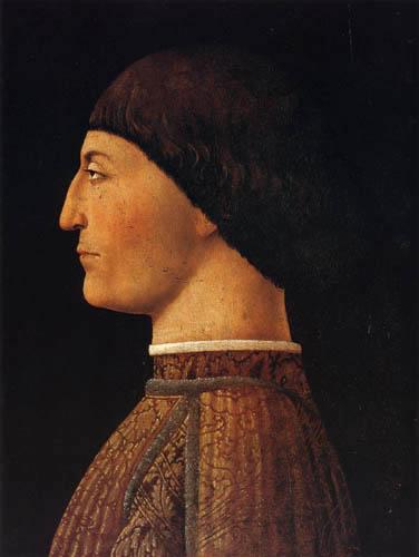 Piero della Francesca - Bildnis Sigismondo Pandolfo Malatesta