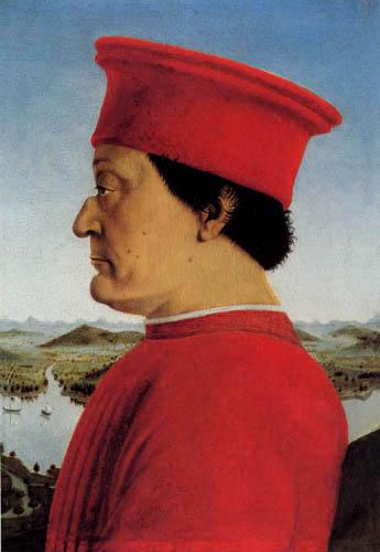 Piero della Francesca - Portrait of Federico da Montefeltro