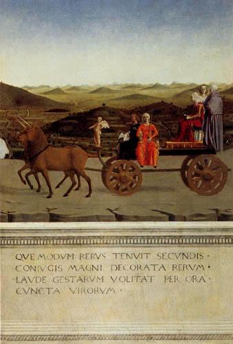 Piero della Francesca - The triumph of Battista Sforza