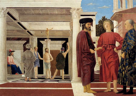 Piero della Francesca - The Flagellation of Christ