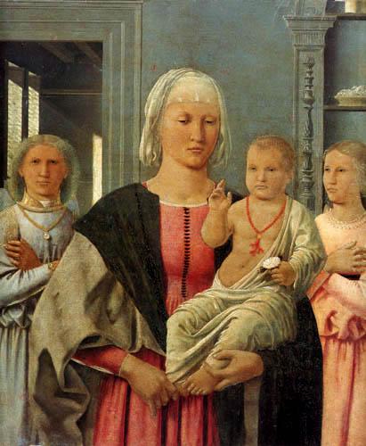 Piero della Francesca - Madonna with child